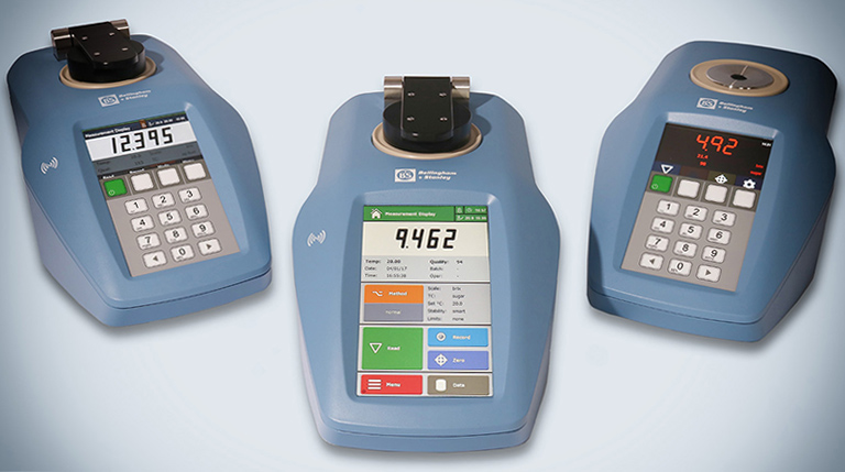 refractometers from Bellingham + Stanley
